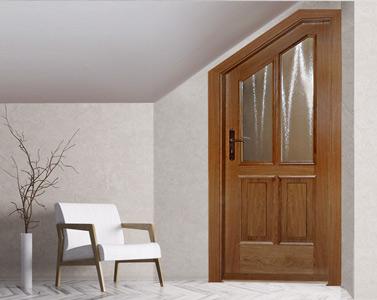 Interiérové dýhované dveře, atypické