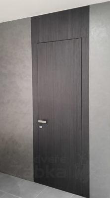 bezfalcové dveře, zapuštěná zárubeň