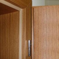 falcové dveře, obložková zárubeň, dýhovné