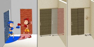 Konfliktní dveře